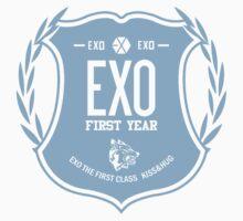 EXO  First Year T-Shirt bwcw by esc695 esc695