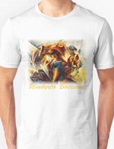Boccioni - Dynamism of Soccer T-Shirt
