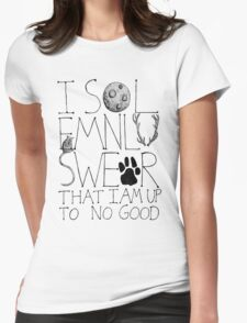 I Solemnly Swear... Womens Fitted T-Shirt