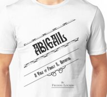 Hannibal book covers: Abigail - Freddie Lounds Unisex T-Shirt