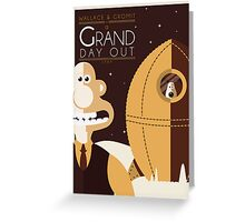 A Grand Day Out Greeting Card