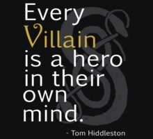 Every Villain is Hero by amandamakepeace