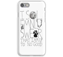 I Solemnly Swear... iPhone Case/Skin