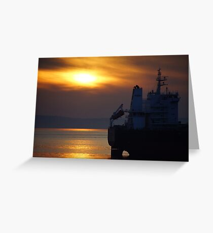 Puget Sound Autumnal  Greeting Card