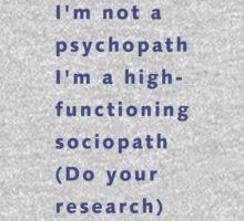I'm a sociopath by kpoz21