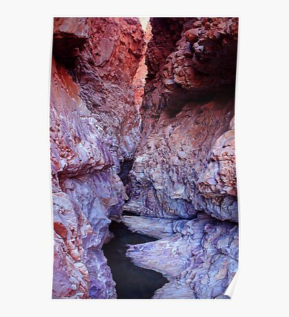 Redbank Gorge, NT Poster