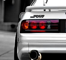 RX7 White by Adrian De