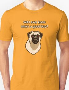Who's A Good Boy? - Simple Font T-Shirt