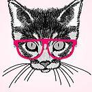 Hipster Kitten by pda1986
