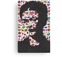 Frida Kahlo Stickers Prints  Canvas Print