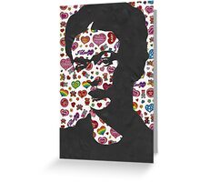Frida Kahlo Stickers Prints  Greeting Card