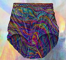 Holographic Knickers prints by georgiagraceart