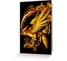 Catching Fire Greeting Card