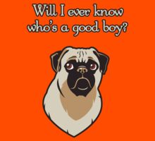 Who's A Good Boy? - Fancy Font by steegeschnoeber