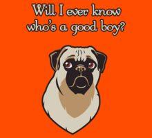 Who's A Good Boy? - Fancy Font by steegeschnoeber