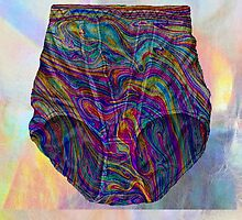 Holographic Knickers Sketch Phone Case by georgiagraceart
