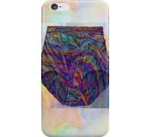Holographic Knickers Sketch Phone Case iPhone Case/Skin