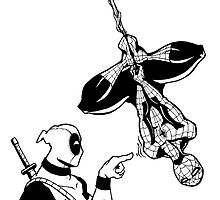 Spidey n' Deadpool by WheelOfFortune