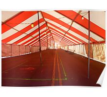 Inside The Tent On Main Street Poster