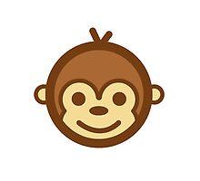 Smiling Monkey Logo by SmilingMonkey