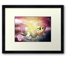 Fluttershy is Best Pony Framed Print