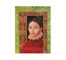 Renaissance Girl Art Print