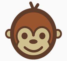 Smiling Monkey Logo T-Shirt