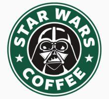 Star Wars Coffee (Vader) by GeekyArt
