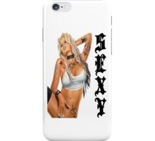 Inked & Sexy Tattooed Babe T-Shirt 2 iPhone Case/Skin