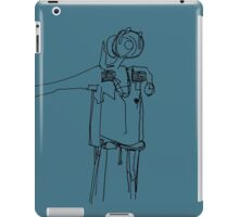 Litter (wo)man iPad Case/Skin