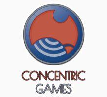 ConCentric Games Logo Kids Clothes