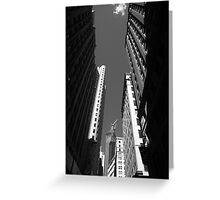 New York City Downtown Greeting Card