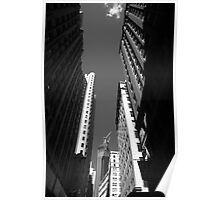 New York City Downtown Poster