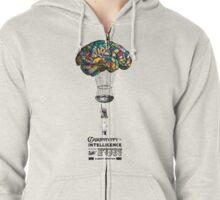 Balloon Brain Zipped Hoodie