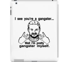 Pretty Gangster Myself iPad Case/Skin