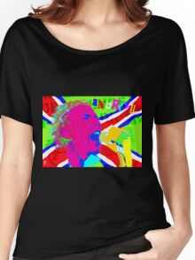 JOHNNY ROTTEN ANARCHY Women's Relaxed Fit T-Shirt