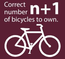 Correct Number of Bicycles to Own by KraPOW
