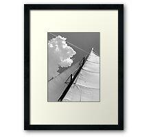 BW Sails Framed Print