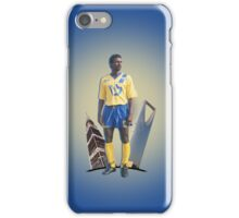 MAJED ABDULLAH with Riyadh towers iPhone Case/Skin
