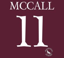 Teen Wolf - SCOTT MCCALL LACROSSE #11 - Shirt/Sticker Design by sarahk142