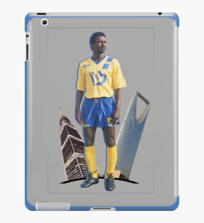 MAJED ABDULLAH with Riyadh towers iPad Case/Skin