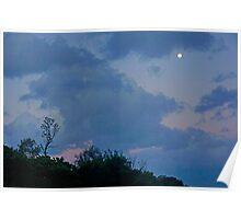 Indigo Sky Poster