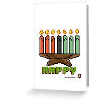 Happy Kinara - V:IPixels Holiday Collection Greeting Card
