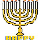 Happy Menorah - V:IPixels Holiday Collection by Victor  Dandridge