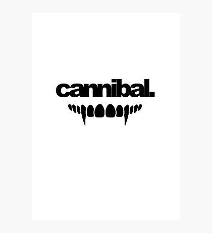 Cannibal Minimalist Photographic Print