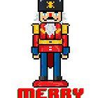 Merry Nutcracker - V:IPixels Holiday Collection by Victor  Dandridge