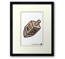 Dreidel - V:IPixels Holiday Collection Framed Print