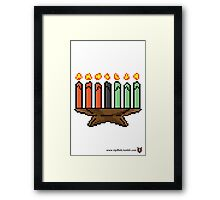 Kinara - V:IPixels Holiday Collection Framed Print
