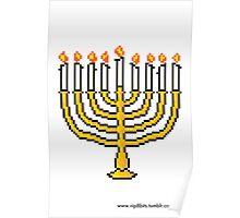 Menorah - V:IPixels Holiday Collection Poster