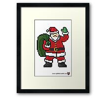 Santa Claus - V:IPixels Holiday Collection Framed Print